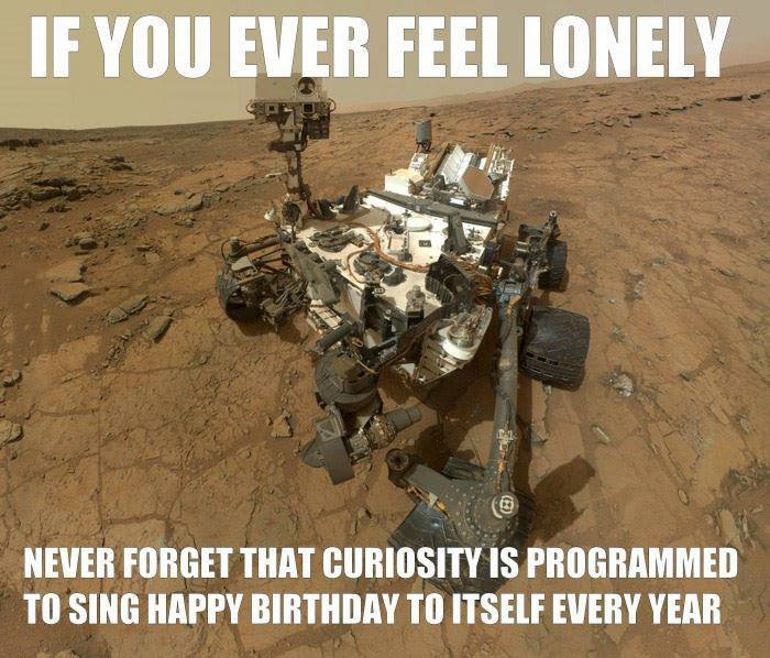 Mars Space Rover Curiosity