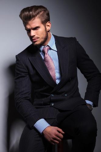 Sexy business man
