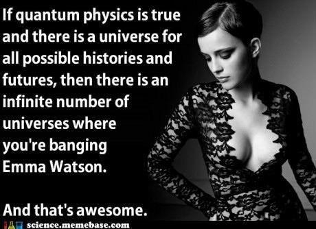 Funny science Emma Watson