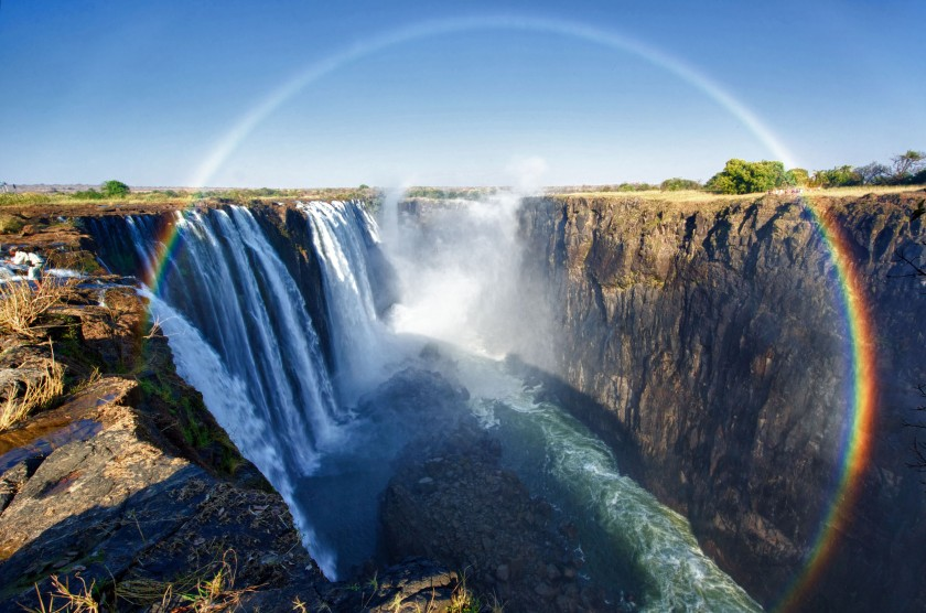 Rainbow, Victoria Falls, Zambia - Aug 2012