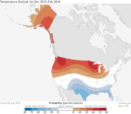 DJF_Temp_outlooks_2015 El Nino