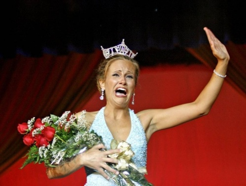 funny crying beauty pageant