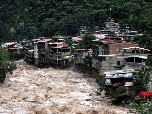 El Nino flooding in Peru