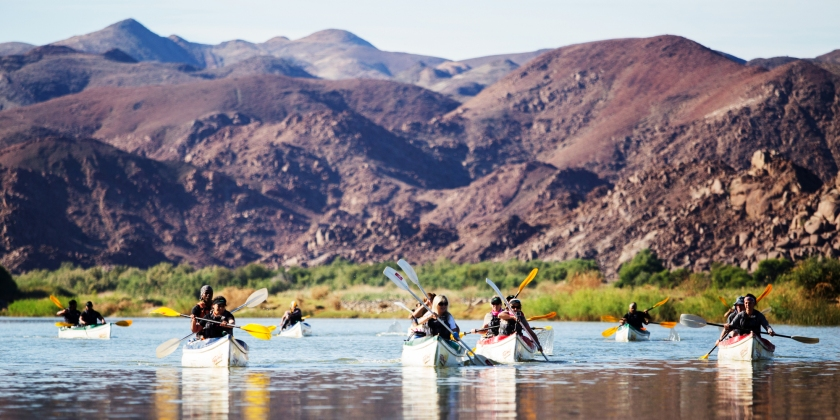 Orange River rafting South Africa
