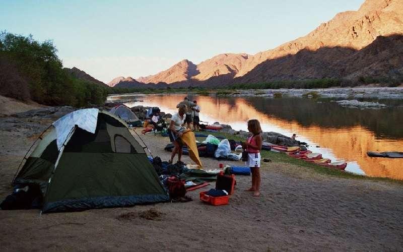 Orange River rafting South Africa