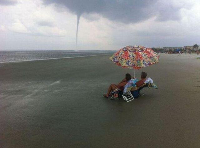 Tornado on holiday