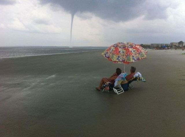 Tornado on holiday