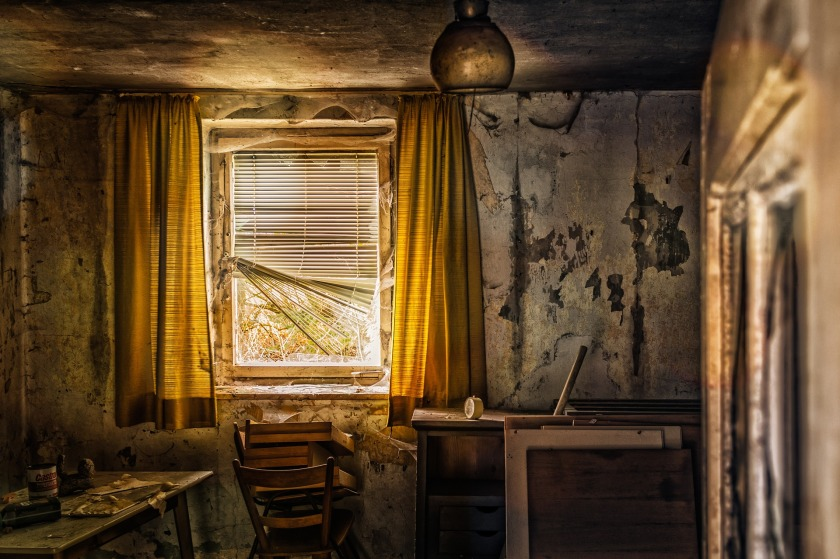 old hotel room