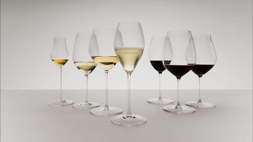 Riedle Glassware wine tasting