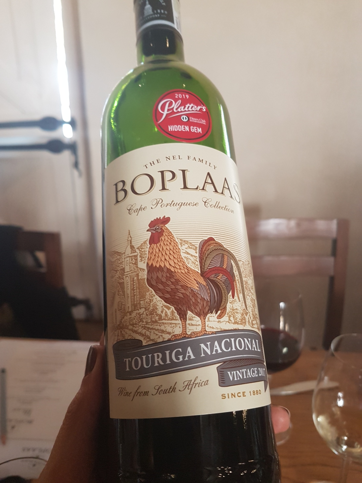 Boplaas Family Vineyards Celebrate Their Portuguese Wine Range Over Lunch at Jonkershuis Restaurant