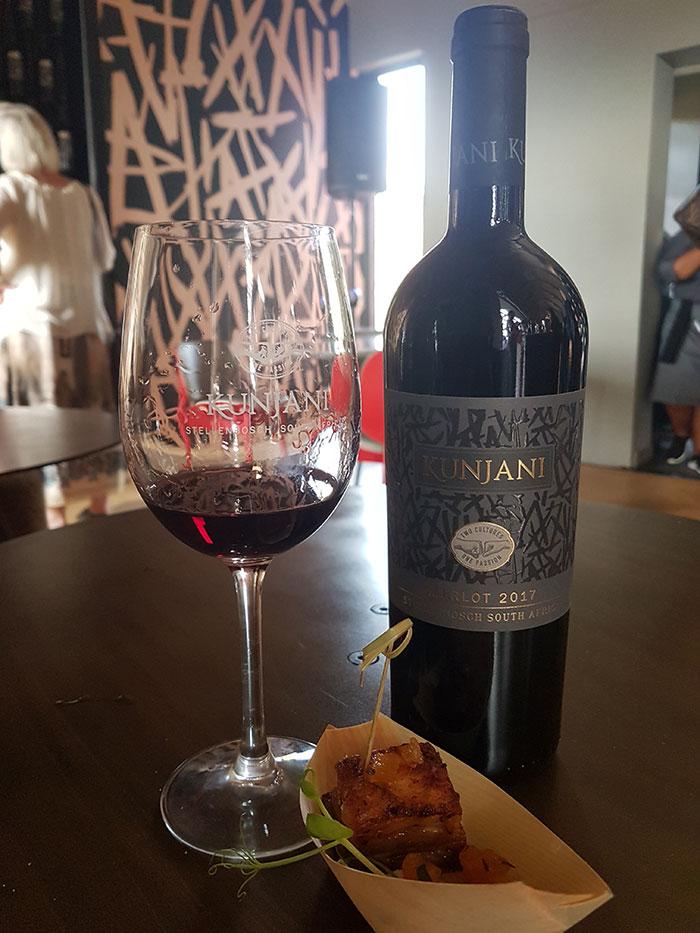 Kunjani-Merlot Stellenbosch wine