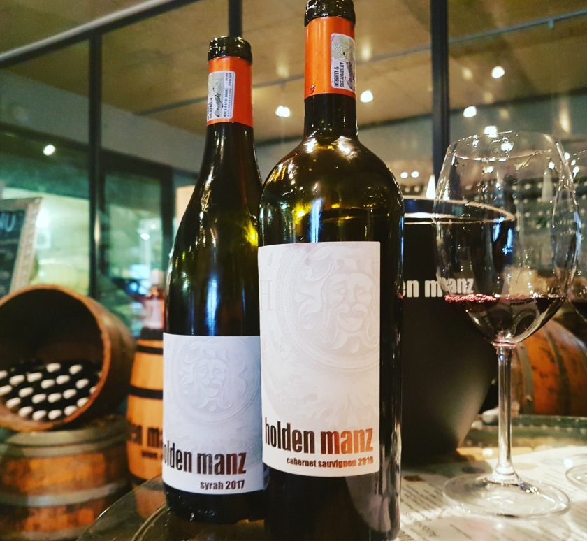 Holden Manz red wine Franschhoek