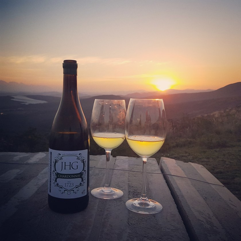 Jan Harmsgat sunset winetasting