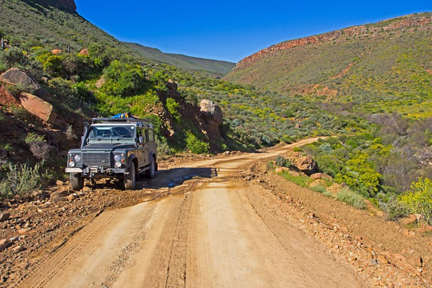 Landrover 4x4 trails South Africa